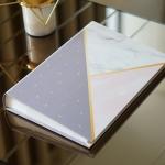 """อัลบั้ม 300 รูป (4x6"""") พร้อมส่ง ลาย Marble - Triangle"""
