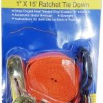 NIGHTCOM แถบ Ratchet Tie Down Straps สำหรับรัดของ/ยกของ ยาว 4 เมตร
