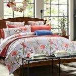 (Pre-order) ชุดผ้าปูที่นอน ปลอกหมอน ปลอกผ้าห่ม ผ้าคลุมเตียง ผ้าฝ้ายพิมพ์ลายดอกไม้สไตล์วินเทจ เปอร์โตริโกเซ็ท