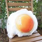 หมอนลายไข่ดาว Sunny Side Up