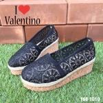รองเท้าลูกไม้ Style Valentino (สีดำ)