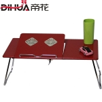 Pre-order ชุดโต๊ะคอมพิวเตอร์ โต๊ะแล็ปท้อป แบบมีพัดลมระบายอากาศ สีแดง