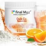Final MaX Quick C+ Vitamin C 1000 ไฟนอล แม็กซ์ ควิก-ซี วิตามินซี สูตรชงพร้อมดื่ม