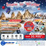 ทัวร์ตุรกี TURKEY SNOW IN WINTER | 9 วัน 6 คืน (เดินทางช่วง : ตุลาคม - ธันวาคม 2560)