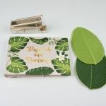 """อัลบั้ม 50 รูป (4x6"""") Palm Leaf - สั่งทำใส่ชื่อ"""