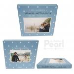 """อัลบั้ม 100 รูป (4x6"""") Square Frame w/ Pattern - สั่งทำใส่รูปถ่าย"""