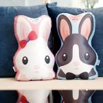 หมอนกระต่าย 2in1 Couple Rabbit Pillow