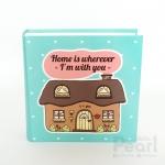 """อัลบั้ม 100 รูป (5x7"""") ลาย Cottage - Home is wherever I'm with you"""