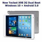 Teclast X98 Air 3G CPU Z3735F จอ.9.7นิ้ว 2ระบบ Android5.0และ Win10 Ram 2GB Rom 64GB