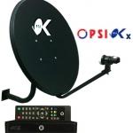 ชุดจานดาวเทียม PSI OK + เครื่อง PSI OKX**ส่งไม่ได้สินค้าใหญ่