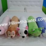 หมอนข้างตุ๊กตา 3 in 1 ยางพาราแท้ ( Doll Pillow)