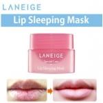 **พร้อมส่ง**Laneige Lip Sleeping Mask ขนาดทดลอง 3 g. ทรีทเมนต์มาสก์ปากสูตรเข้มข้น ที่เหนือกว่าลิปบาล์มทั่วไป ลดความแห้งกร้าน คืนความชุ่มชื่น พร้อมฟื้นฟูให้ริมฝีปากเรียบเนียน ร่องบนริมฝีปากดูตื้นขึ้น พร้อมมอบกลิ่นหอมหวานจากเบอร์รี่ ,