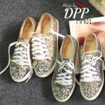 รองเท้าผ้าใบ Miumiu Glitter 2016