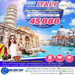 FCO01 : FOCUS ITALY 7D 4N BY SQ (กันยายน - ธันวาคม 61)