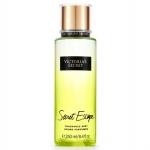 **พร้อมส่ง**Victoria's Secret Fantasies Secret Escape Fragrance Mist 250 ml. *แพคเกจใหม่ 2016* สเปร์ยน้ำหอม ให้ความหอมรัญจวนใจ กลิ่นติดทนนาน 7-12 ชั่วโมง กลิ่นดอกไม้หอมฟรีเซีย ฉีดแล้วจะให้กลิ่นหอมหวานไม่ฉุน ปลายๆกลิ่นจะมีกลิ่นผลไม้สดชื่น เหมาะกับสาวแ