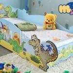 เตียงเด็ก รุ่น T-Rex ลายการ์ตูนไดโนเสาร์
