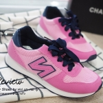 รองเท้าผ้าใบ Style NB ทรง sport (สีชมพู)