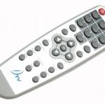 รีโมท รีซีฟเวอร์ DTV รุ่นกล่องขาว