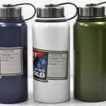 Pre-Order กระบอกน้ำสุญญากาศ กระติกน้ำร้อน กระติกน้ำเย็น สแตนเลส 2 ชั้น พร้อมกระเป๋าสะพายขนาดบรรจุ 1200 มล. สี่สี สีกรมท่า สีเขียว สีขาว และสีเงิน
