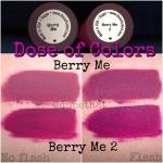 *พร้อมส่ง*Dose Of Colours Liquid Matte สี Berry Me สีม่วงอมชมพูเย้ายวน ลิปเนื้อแมทสนิท เข้าถึงทุกร่องปาก กลบสีปากเนี๊ยบ ฟินิชเป็นแมทแน่น ดูไกลๆเหมือนกำมะหยี่ ,