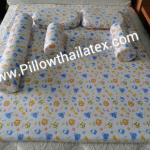 ที่นอนเด็กอ่อนยางพาราแท้ แบบไม่ตั้ง ( BABY-SET) 5 ชิ้น