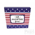 อัลบั้ม 100 รูป Our Adventure Book ลายธงอเมริกา