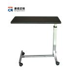 Pre-order โต๊ะทำงานปรับระดับ โต๊ะแล็ปท็อป โต๊ะวางคอมพิวเตอร์ โต๊ะพรีเซนต์งาน โต๊ะปรับไฮดรอลิก มีล้อเลื่อน สีดำ