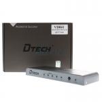กล่องแยกจอ HDMI Splitter 1:4 (VD041) DTECH