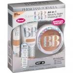 **พร้อมส่ง**Physicians Formula Super BB All-in-1 Beauty Balm Makeup Kit สี Light/Medium สำหรับผิวขาวเหลือง เซต 3 ชิ้นสุดคุ้ม ทั้งบำรุง ปกป้อง และปกปิด เพื่อหน้าเนียนสวยอยู่ทนตลอดวัน ประกอบด้วย แป้งพัพ ครีมรองพื้น และคอนซีลเลอร์