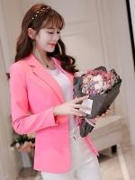 เสื้อสูททำงานผู้หญิงสีชมพู รหัสสินค้า 4-008RX-ชมพู