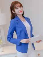เสื้อสูททำงานผู้หญิงสีน้ำเงิน รหัสสินค้า 4-007RX-น้ำเงิน