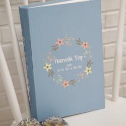 """อัลบั้ม 300 รูป (4x6"""") ลาย Floral Grame - สั่งทำใส่ชื่อ"""