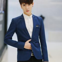เสื้อสูท สีน้ำเงิน M