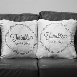 หมอนอิง ร้าน Twinkle Nails & Spa