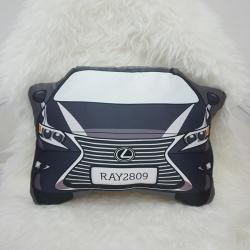 หมอนรถ Lexus สั่งทำใส่ชื่อ