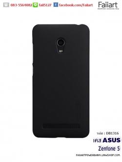 เคสเซนโฟน5 ASUS Zenfone 5 เคสฝาหลัง nillkinแท้ Super Frosted Shield สีดำ
