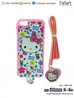 เคสiPhone5-5s เคสฝาหลัง ลายคิตตี้