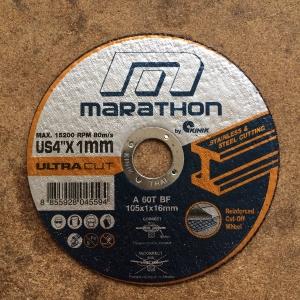 """ใบตัดสแตนเลส Marathon 4"""" ใบละ"""