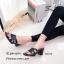 รองเท้าส้นตันเปิดส้น Style YSL (สีครีม) thumbnail 6