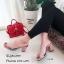 รองเท้าส้นตันสวมใสนิ่ม (สีดำ) thumbnail 10