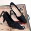 รองเท้าคัทชูผ้าลูกไม้พิมพ์ลาย thumbnail 3