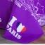 (Pre-order) ชุดผ้าปูที่นอน ปลอกหมอน ปลอกผ้าห่ม ผ้าคลุมเตียง ผ้าโพลีเอสเตอร์พิมพ์ลาย I LOVE PARIS สีม่วง-ขาว thumbnail 4