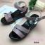 รองเท้าส้นเตารีด Platformสไตล์ลำลอง (สีชมพู) thumbnail 5