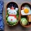 (พรีออเดอร์) กล่องข้าวไม้ กล่องข้าวญีปุ่น เบนโตะ กล่องห่ออาหารกลางวัน ไม้แท้ ลายสวย ปลอดภัย ทรงเม็ดถั่ว สองชั้น สีโอ๊ค thumbnail 3