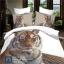 (Pre-order) ชุดผ้าปูที่นอน ปลอกหมอน ปลอกผ้าห่ม ผ้าคลุมเตียง ผ้าฝ้ายพิมพ์ 3D รูปเสือ thumbnail 1