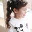 กิ๊บติดผมเด็ก สีดำ ลายจุด สไตล์เด็กเกาหลี thumbnail 1