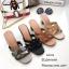 รองเท้าส้นตันเปิดส้น Style YSL (สีครีม) thumbnail 9