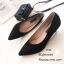 รองเท้าคัทชูกลิตเตอร์ (สีดำ) thumbnail 1
