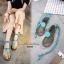รองเท้าแตะซิลิโคนพันขา (สีฟ้า) thumbnail 3
