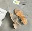 รองเท้าแตะรัดส้นสไตล์ลำลอง (สีครีม) thumbnail 3